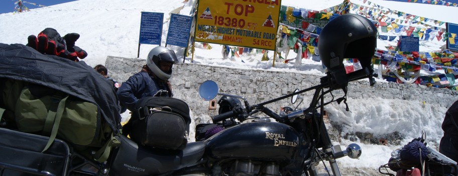 Crossing Khardung La- World's Highest Motorable Road Image