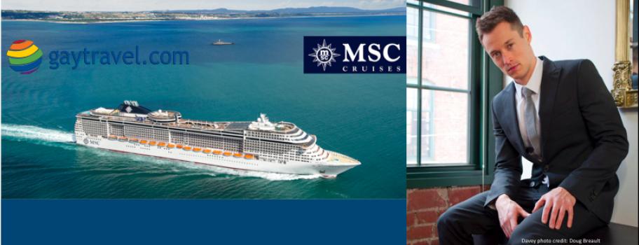 MSC Cruises and Davey Wavey Twitter Chat Image