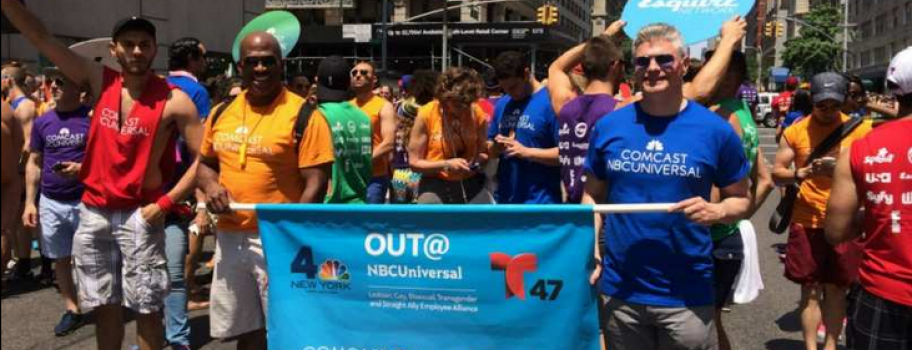 History is Made: Gay Group Marches in NY St. Patty's Day Parade Image