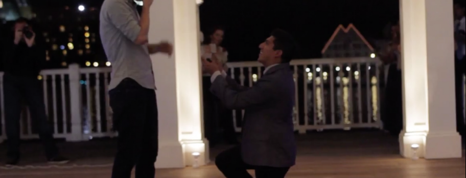 Elaborate Proposal Video Will Give You The Feels Image