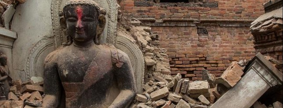 Nepal Rattled By Second Earthquake in 3 Weeks Image