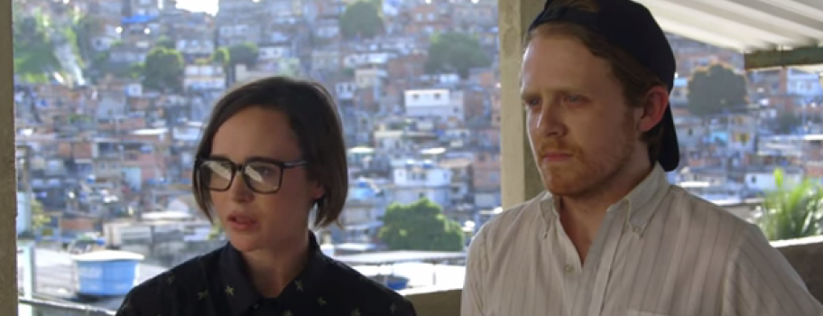 Ellen Page Uses New Travel Series to Promote LGBT Rights Image