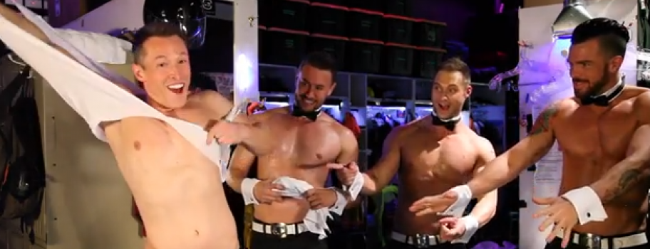 YouTube Star Davey Wavey Becomes a Chippendales Dancer Image