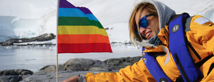 Antarctica: 'The World's First LGBT-Friendly Continent' Image
