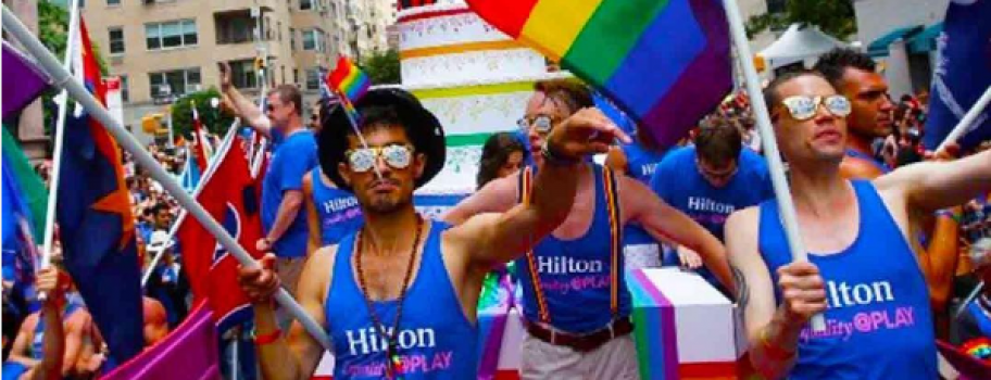 American Family Association Has a Problem with Hilton Image