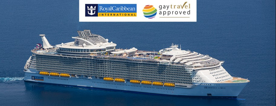 "Royal Caribbean International Awarded ""Gay Travel Approved"" Image"