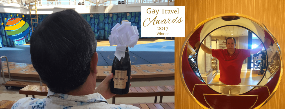 Royal Caribbean Wins 2017 Gay Travel Award for 'Cruise Line' of the Year Image