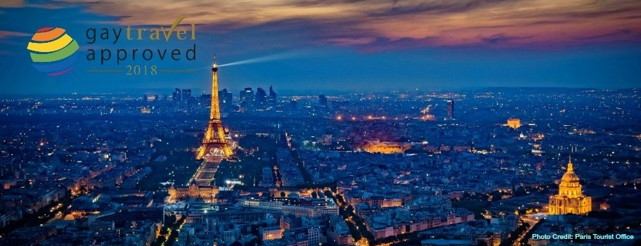 "Paris Becomes First ""GayTravel Approved"" City in Europe Image"