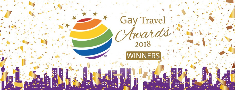 Congratulations to the 2018 Gay Travel Award Winners! Image
