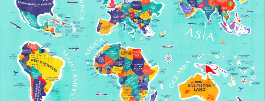 Discover the Literal Meaning of EVERY Country's Name with this Marvelous Map! Image