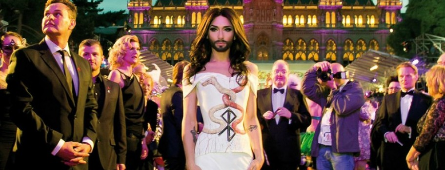 Davey Wavey: Vienna's Life Ball: Be There. Image